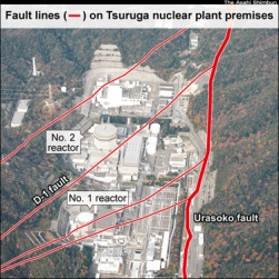 Fukushima Update | Nuclear regulators acknowledge fault below Tsuruga reactor is active